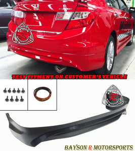 Mod Style Rear Lip For 2012 Honda Civic 4Dr - Bayson R Motorsports