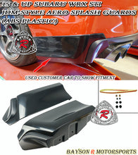 Load image into Gallery viewer, 15-19 Subaru WRX STI JDM-Style Aero Splash Guard Rear Aprons (ABS Plastic)