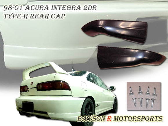 98-01 Acura Integra 2DR Type-R Style Rear Cap /Apron (ABS Plastic)