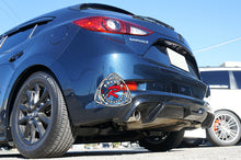 Load image into Gallery viewer, 17-18 Mazda 3 5dr Hatch MK Style Rear Diffuser (ABS Plastic)