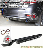 MZ Style Rear Lip For 2017-2018 Mazda 3 5Dr - Bayson R Motorsports