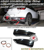 MZ-Style Rear Aprons For 2016-2020 Mazda CX-3 - Bayson R Motorsports