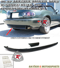 Load image into Gallery viewer, 90-97 Mazda Miata R-Style Rear Lip (Polyurethane)