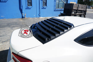 12-18 Scion FR-S / Subaru BRZ / Toyota 86 T-Style Rear Window Louver Sun Shade Cover (ABS)