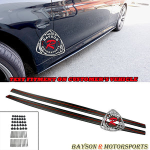MP Style Side Skirt Extension For 2014-2020 BMW 4-Series F32 F33 F36 - Bayson R Motorsports