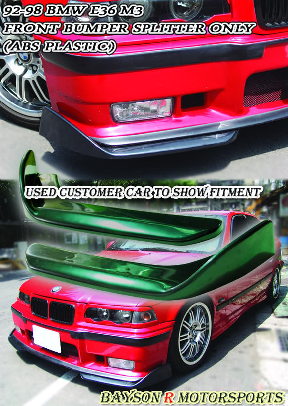 Front Splitter For 1994-1999 BMW 3-Series M3 E36 - Bayson R Motorsports