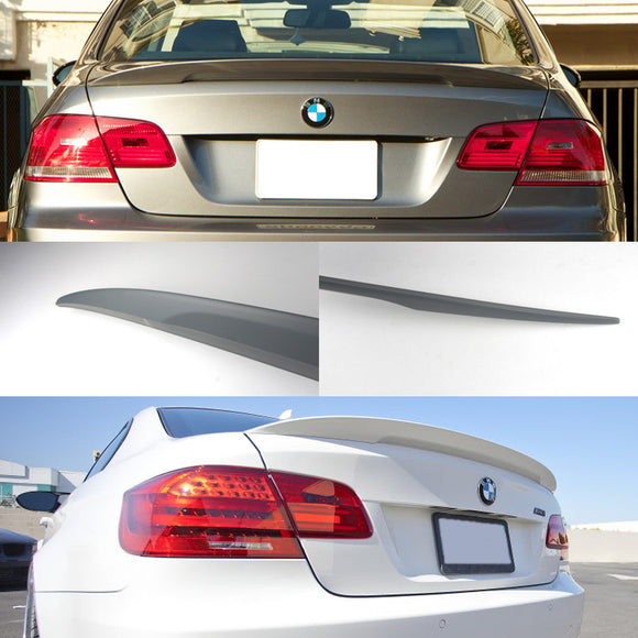MP High Kick Style Spoiler For 2007-2013 BMW 3-Series E92 - Bayson R Motorsports