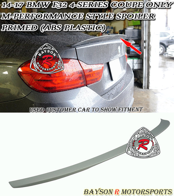 MP Style Spoiler For 2014-2020 BMW 4-Series F32 - Bayson R Motorsports