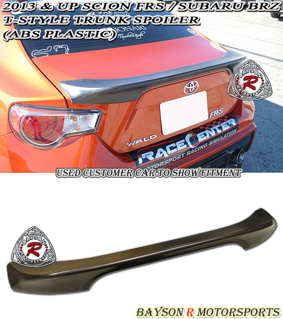 12-18 Scion FR-S FRS FT86 GT86 T-Style Spoiler Wing (ABS)