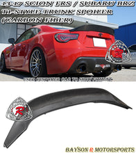 Load image into Gallery viewer, 12-18 Scion FR-S FRS FT86 GT86 T1-Style Spoiler Wing (Carbon Fiber)