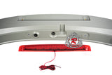 MS Style Spoiler w/ Red Lens LED 3rd Brake Light For 2014-2018 Mazda 3 5Dr - Bayson R Motorsports