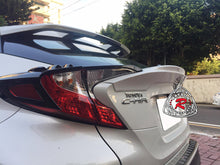 Load image into Gallery viewer, 17-18 Toyota C-HR T-Style Rear Ducktail Trunk Spoiler Wing (ABS Plastic)