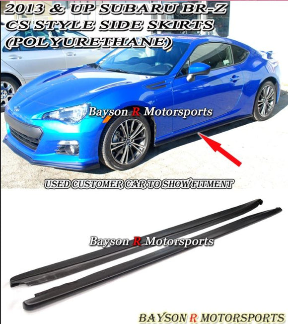 12-16 Scion FR-S / Toyota 86 CS-Style Side Skirts + A-Style Rear Lip Aprons (Polyurethane) - Bayson R Motorsports