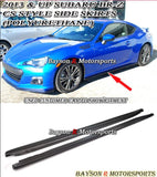 CS Style Side Skirts & A Style Rear Aprons For 2012-2016 Subaru BRZ / Scion FR-S - Bayson R Motorsports