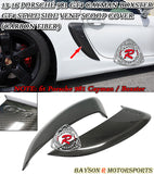 GT4 Style Side Scoop (Carbon Fiber) For 2013-2016 Porsche Cayman / Boxster (981) - Bayson R Motorsports