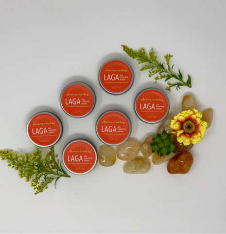 LAGA All Purpose Salve Mini (6 Pack for Gifting)