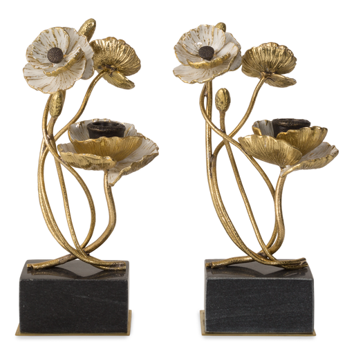Michael Aram Anemone Candleholders (Set of 2)