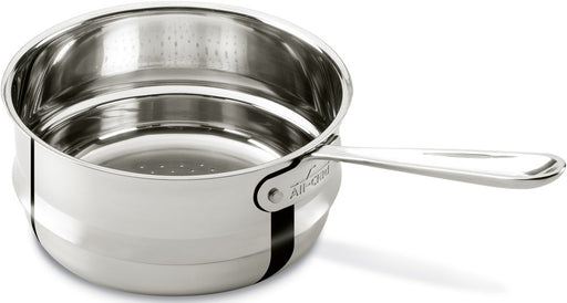 All-Clad 4703-ST Stainless Steel Universal Steamer Insert Cookware, 3-Quart