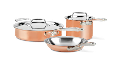 All-Clad C4 Copper 5 Piece Cookware Set
