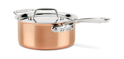 All-Clad C4 Sauce Pan with lid