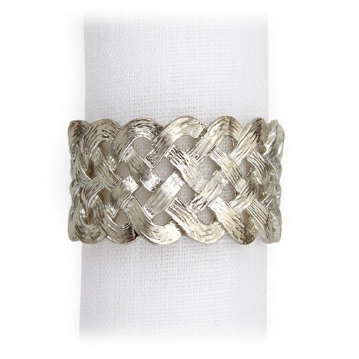 L'Objet Braid Napkin Jewels (Set of 4)