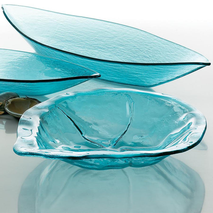 Annieglass Ultramarine 15 Round Bowl