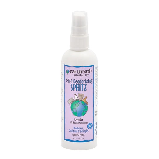 EarthBath 3-in-1 Deodorizing Spritz – Lavender (8oz)