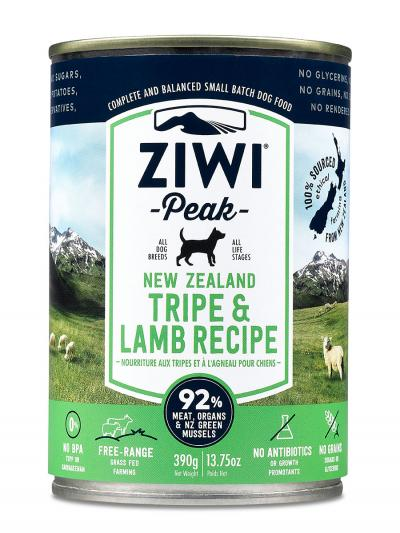 Ziwi Peak Canned Dog Food Tripe & Lamb