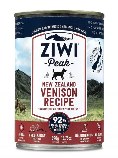 Ziwi Peak Canned Dog Food Venison