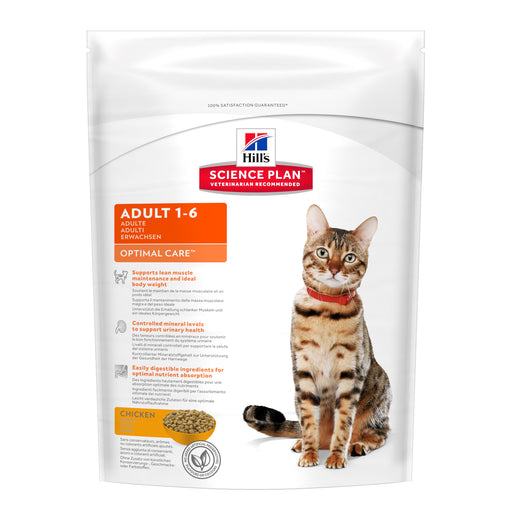 Hills Science Plan Feline Adult Optimal Care w/ Chicken