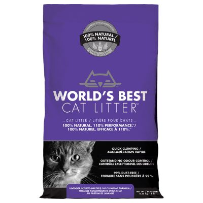 World'S Best Cat Litter Lavender 3.18Kg