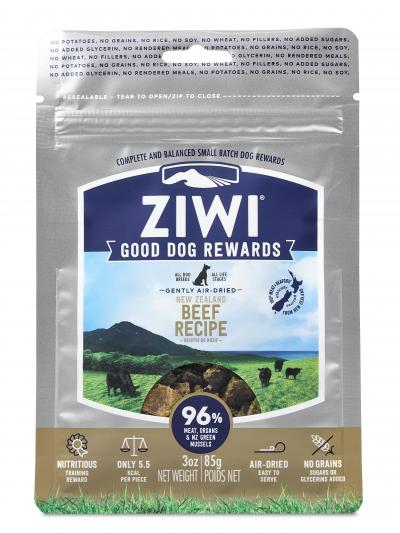 Ziwi Peak Good Dog Rewards Pouches Beef