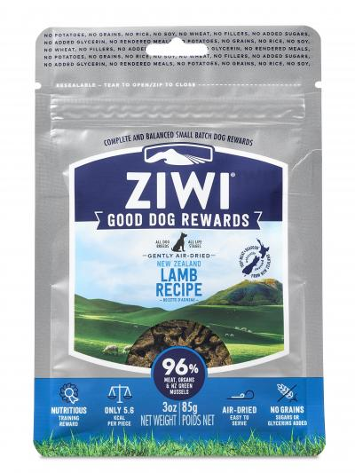 Ziwi Peak Good Dog Rewards Pouches Lamb