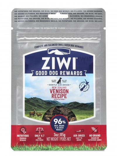 Ziwi Peak Good Dog Rewards Pouches Venison