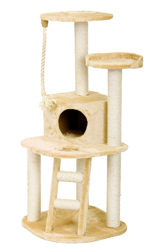 ALMERICH CAT PLAY TOWER - BEIGE