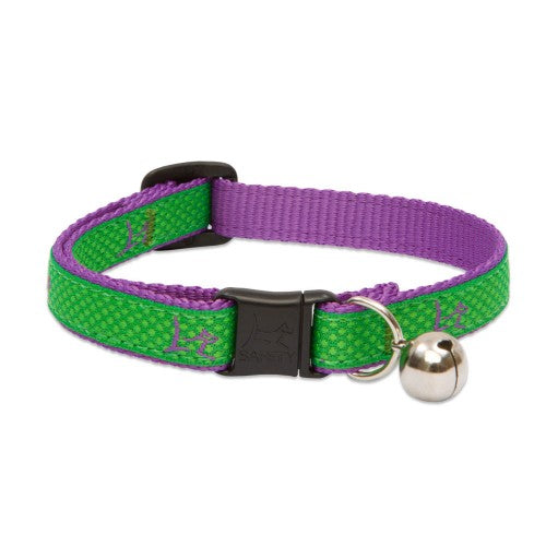 Augusta Green W/ Bell Cat Collar