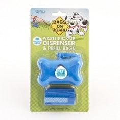BOB Dispenser - Blue - 30 Bags