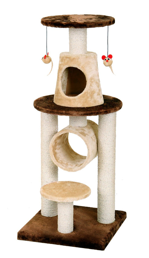 BONALTI CAT PLAY TOWER - BROWN-BEIGE