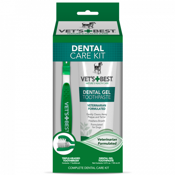 Vets Best Complete Enzymatic Dental Care Kit