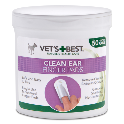 Vets Best Clean Ear Finger Pads