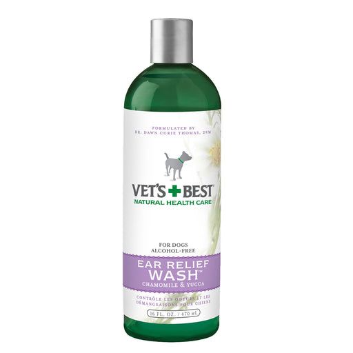 Vets Best Ear Relief Wash - Chamomile & Yucca (16Oz)