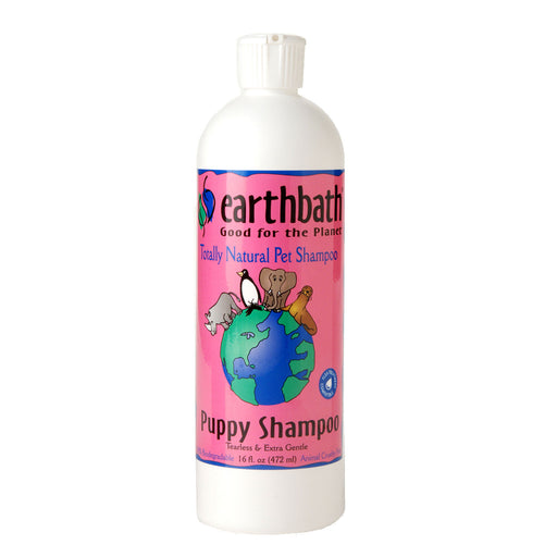 EarthBath Ultra Mild Puppy Shampoo - Tearless & Extra Gentle - Wild Cherry