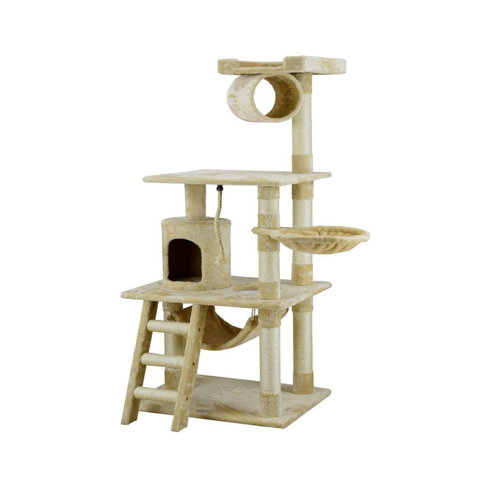 "62"" Mittens Cat Tree (97Wx69Lx158H)"