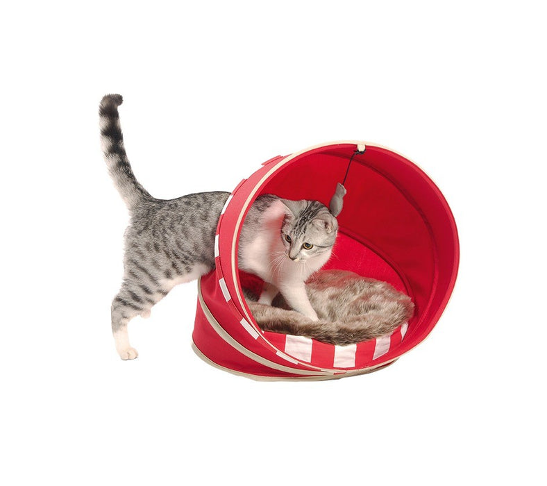 CAT BED FALL - RED