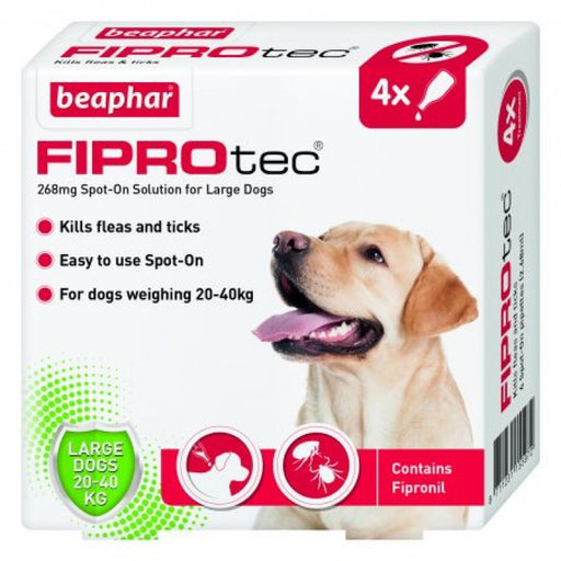 Beaphar Fiprotec for Large Dog - 4 pipettes