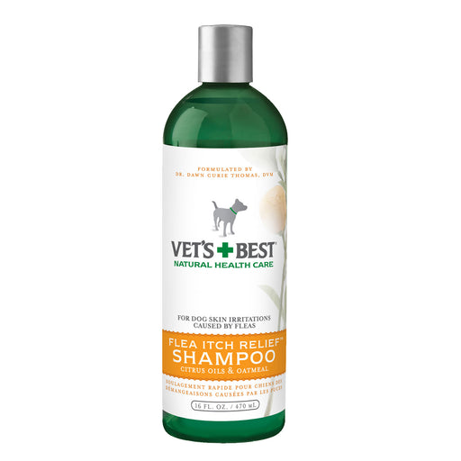 Vets Best Flea Itch Relief Shampoo (16Oz)
