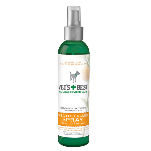 Vets Best Flea Itch Relief Spray (8Oz)