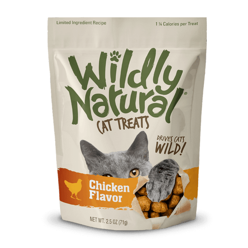 Fruitables Wildly Natural Cat Treats – Chicken Flavor (71g)