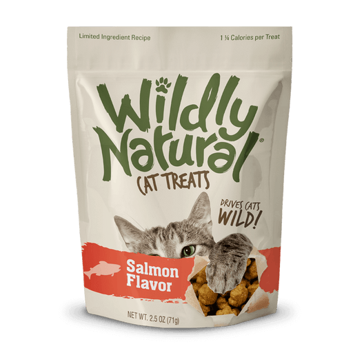 Fruitables Wildly Natural Cat Treats – Salmon Flavor (71g)