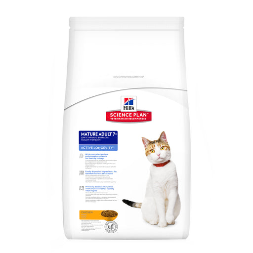 Hills Science Plan Feline Mature Adult 7+ Active Longevity Chicken